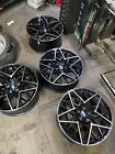 20 Inch WHEELS RIMS BMW F10 528i 535i 550i Rims M5 M6 1206 BMW M8 Replica