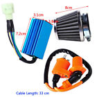 Performance Ignition Coil +CDI Box + Air Filter Kit for GY6 50cc 150cc Scooter