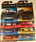 2015 HOT WHEELS PORSCHE SERIES COMPLETE SET OF 8 CARS WALMART RARE