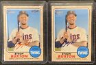 2017 Topps Heritage High Number Baseball Cards 75