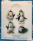HALLMARK 2008 ANTARCTIC ANTICS ORNAMENT South Pole Pals Frosty Friends Penguins