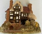 Lilliput Lane Three Feathers Cottage England Collection UK Handmade Decor Home