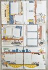 Happiness Lives Here Spring Summer Family Pre Cut 6 page Scrapbook Layout Kit