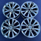 Set of 4 20 Ford F 150 F150 OEM Factory Lariat Chrome Wheels Rims Expedition