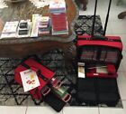 Sizzix Original Red Die Cutting Machine Lot of 130+Die Cuts And 2 Carrying Cases