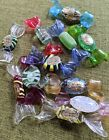 Vintage Authentic Labeled Murano Hand Blown Glass Candies Candy Lot Of 11