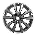 Refenished Black 17x7 Wheel Rim for 2017 2019 Nissan Rogue 17 Inch