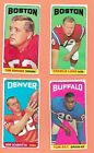 1965 Topps Football Cards 3