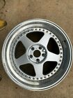 OZ Futura three piece wheels for Lotus Esprit 17 front 18 rear 8 and 10 widths