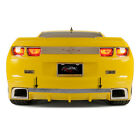 Polished Rear Laser Mesh Valance Trim for 2010 13 Camaro RS w RS Ground Effects
