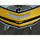 Polished Stainless Lip Spoiler Trim Kit for 10 13 Camaro RS w RS Ground Effects