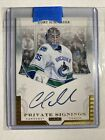 Cory Schneider - 2011 Panini Luxury Suite Private Signings - Autograph CSC