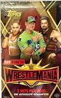 Topps 2019 WWE Road to Wrestlemania Hobby Box Factory Sealed NEW