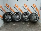 """2015-2021 MERCEDES C CLASS W205 AMG LINE SET OF 19"""" ALLOY WHEELS WITH TYRES"""