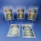 5 x BCW Touch Magnetic Trading Card Holder 35pt Mag Case