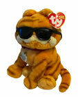 Ty Beanie Garfield Cool Cat Soft Plush Sitting Toy Collar Name Tag 2004 Soft