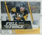 2015-16 15 16 Upper Deck FULL FORCE Retail Box NEW SEALED Connor McDavid ROOKIE