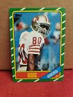 1986 Topps Jerry Rice Rookie RC #161 Mint Plus Condition Potential PSA BGS 9+