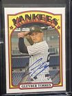 2021 Topps Heritage Gleyber Torres REAL ONE AUTO AUTOGRAPH ON CARD Yankees