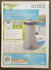 Intex 1000 GPH Krystal Clear Cartridge Filter Pump for Above Ground Pools NEW
