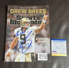 Drew Brees Rookie Cards Checklist and Autographed Memorabilia Guide 58