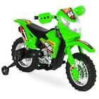 Ride On Motorcycle Dirt Bikes Green Toddler Electric Bike Kids Car Power Wheels
