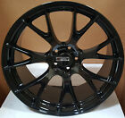 20 Rims Gloss Black Staggered Wheels Hellcat Style Fit Challenger Charger RWD