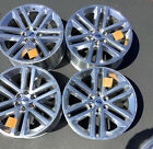 Set Of 4 Ford F150 22 inch Wheels Factory OEM spec Platinum Expedition Polished