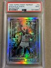 Shaquille O'Neal 1996 Topps Finest Rookie RC Reprint Refractor PSA 9 POP 6 #32