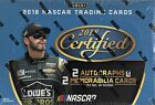 2018 PANINI CERTIFIED RACING FACTORY SEALED HOBBY BOX NEW OPENED CASE