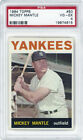 Comprehensive Guide to 1960s Mickey Mantle Cards 134