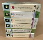 6 Used Cricut Cartridges Doodlecharms Word Party Going Places Classic Font