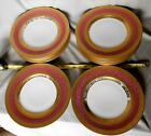 Antique set of 12 dinner plates German Hutschenreuther Selb gold encrusted 1920