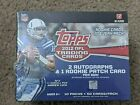 2012 Topps JUMBO hobby box FACTORY SEALED 2 autos - possible Russell Wilson