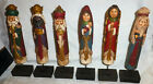 2013 The Promise of Christmas Nativity Set by Robert Stanley Deluxe 6 Pc Set Box