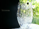 Waterford Crystal Sunflower Vase Master Craft Flora  Fauna Collection New Boxed