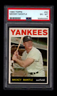 Comprehensive Guide to 1960s Mickey Mantle Cards 126