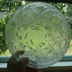 Beatiful Lalique Pinson Glass Bowl Art Deco finches and vines motif