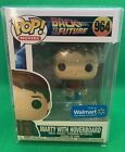 Funko Pop! Walmart Exclusive Back to the Future Marty With Hoverboard w shield