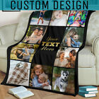 Personalized Custom Fleece Blanket With Photo Family Picture Memorial Blanket