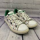 USED Adidas Mens Stan Smith 2 Pool Ball Casual Lace Up Sneakers Shoes Size 9