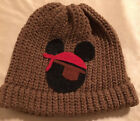 Handmade Pirate Mickey Mouse Inspired Beanie in Tan Pirates of the Caribbean