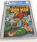 Iron Man #17 - CGC 8.0 - 1st appearance of Madame Masque!