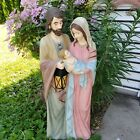 36 Resin Polyresin Handcraft Nativity Holy Family Statue For Home Church Xmas