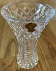 Vintage Waterford Crystal Posey Giftware Bud Vase 6 Tall w Sticker No Box