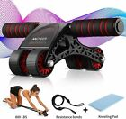 Ab Roller Wheel Abdominal Fitness Gym Exercise Equipment Core Workout Training d