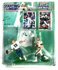 NFL 1997 Starting Lineup Dan Marino & Bob Griese Miami Dolphins Classic Doubles