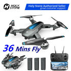 Holy Stone HS240 FPV Foldable Drone with 720P HD Camera RC Quadcopter 3 Battery