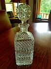 11 Regency Cut Glass Crystal Decanter With Stop       1713