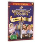 Greatest Heroes And Legends Of Bible DVD The Nativity + Last Supper DOUBLE FEA